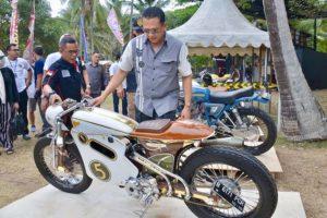Hadiri AnyerKrakatau Bike Festival, Bamsoet - Hobi Motor Alat Perekat Persaudaraan