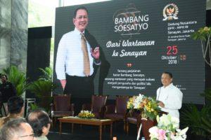 Ketua DPR RI Luncurkan Buku Biografinya 'Dari Wartawan ke Senayan'