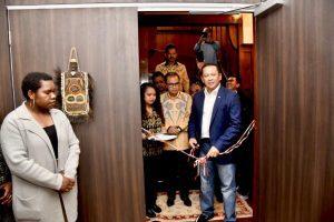 Ketua DPR RI Resmikan Graha Gorontalo & Ruang Papua di Selandia Baru