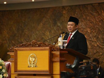 Sidang Paripurna DPR RI Ketua DPR Bambang Soesatyo