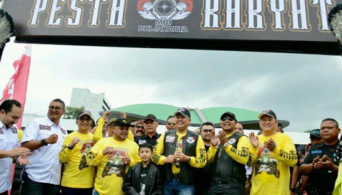 Ketua DPR RI Apresiasi Pesta Rakyat Bikers Jakarta