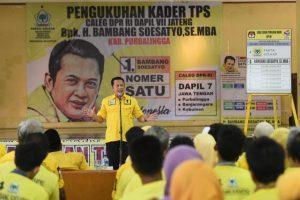 Golkar dan Jokowi Bertekad Memperkuat Desa