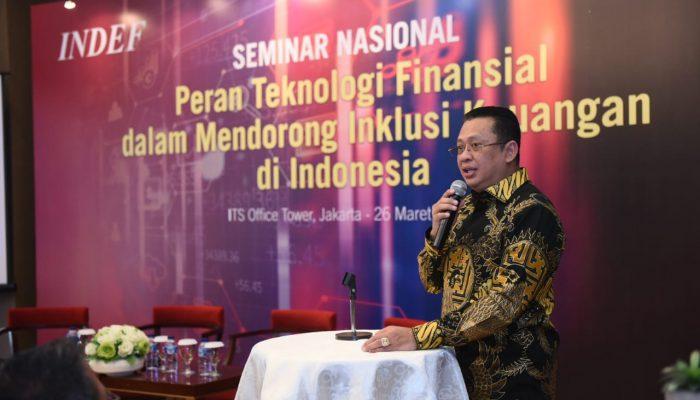 Bamsoet DPR RI Siap Kaji Urgensi UU Keuangan Digital
