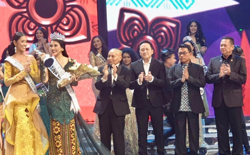 Bamsoet Puteri Indonesia Harus Jadi Duta Pancasila di Dunia