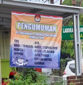Ketua DPR RI Nyoblos di TPS 15 Purbalingga