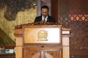Ketua DPR RI Bambang Soesatyo Pidato Sidang Paripurna