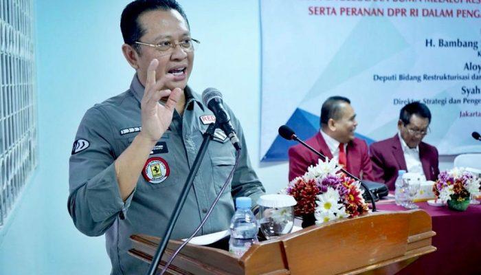 Ketua DPR RI Bambang Soesatyo Pertimbangkan Tunda Pengesahan RUU KUHP
