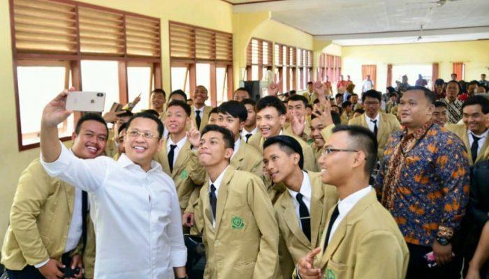 Bamsoet Beri Kuliah Umum di Kampus Barunya Universitas Perwira Purbalingga