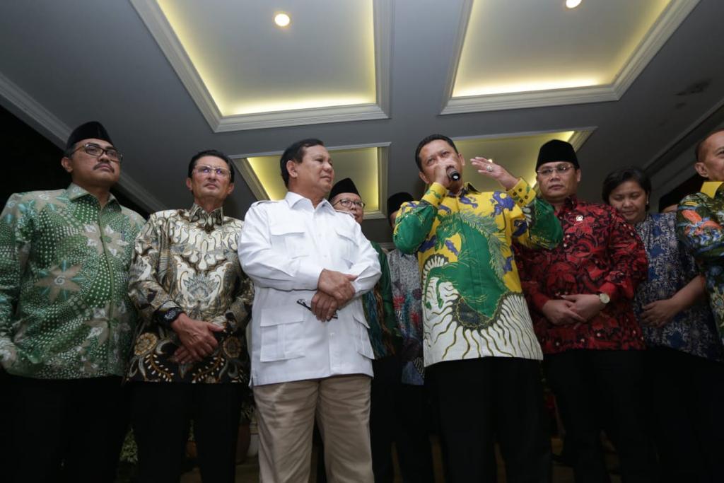 Bamsoet : Kata Prabowo Bersatu Itu Keren