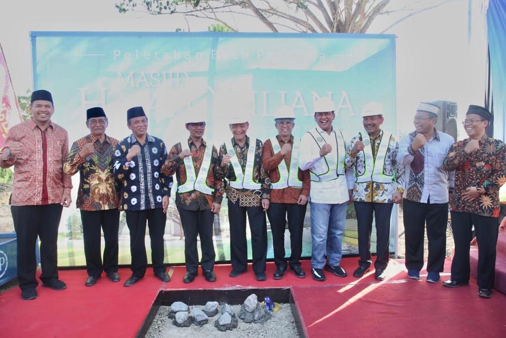Bamsoet Letakan Batu Pertama Pembangunan Masjid Muhammadiyah Yogyakarta