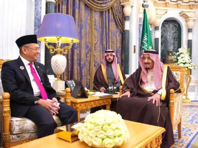 Bambang Soesatyo Raja Salman Kuota Haji Indonesia Riyadh