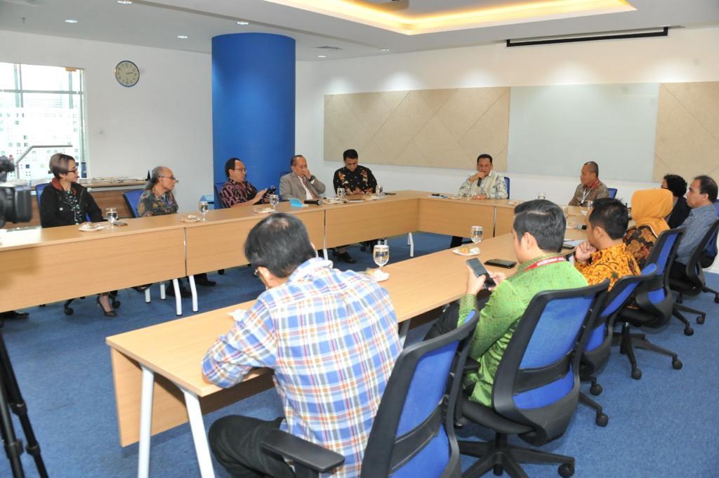 Bamsoet Media Visit Kompas Gramedia