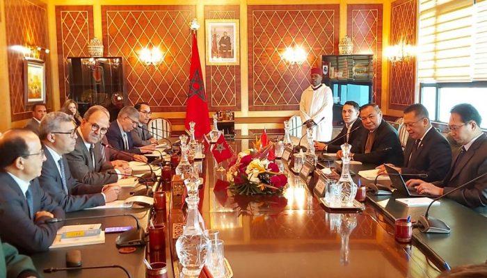 Ketua MPR RI Bambang Soesatyo Kedubes Maroko Rabat