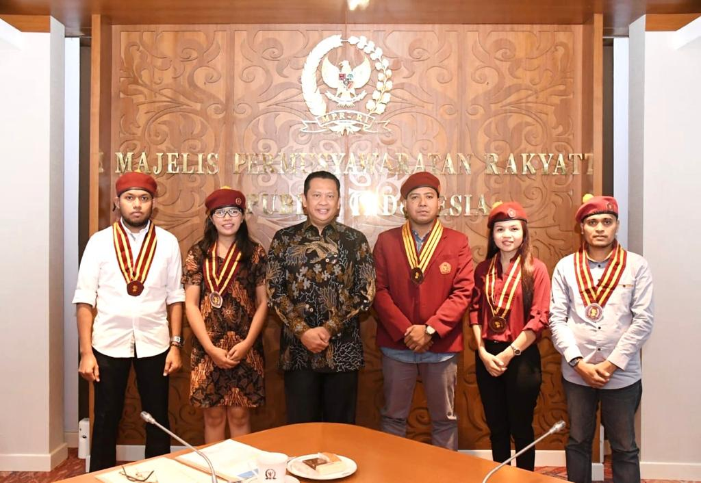 Ketua MPR RI menerima PMKRI