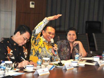 Ketua MPR RI Bertemu Trans Media Group Chairul Tanjung