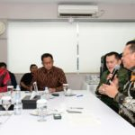 MPR RI Bamsoet Media Visit ke TV One
