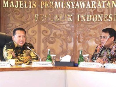 Rapat Pimpinan MPR RI