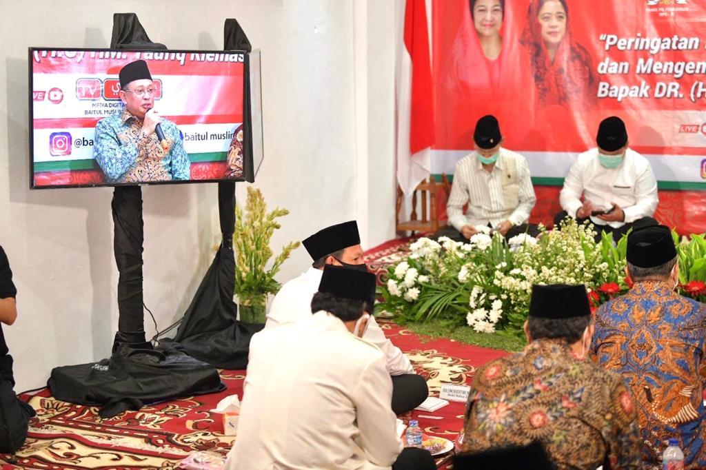 Bamsoet Almarhum Taufik Kiemas Layak Mendapat Penghargaan Bapak Empat Pilar MPR RI