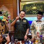 Ketua Umum PB NU Ketua MPR RI Bambang Soesatyo