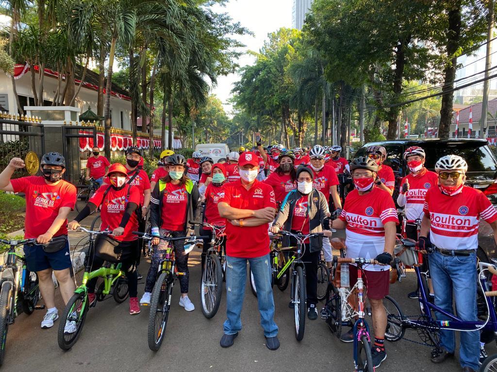 Bamsoet Dorong Pemerintah Perluas Jalur Khusus Pesepeda
