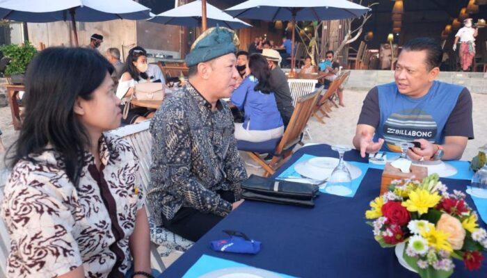 Bertemu Tour Guide di Bali, Bamsoet Minta Turut Edukasi Turis Jalankan Protokol Kesehatan