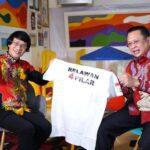 Ketua MPR RI Bambang Soesatyo bareng Kak Seto