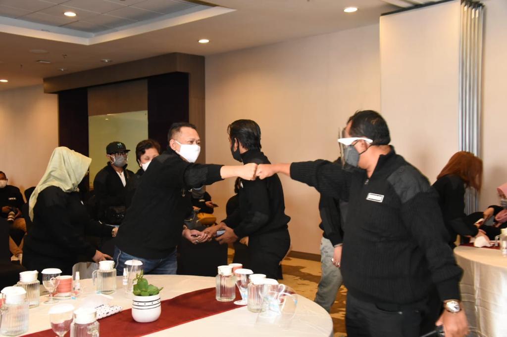 Press Gathering Wartawan MPR RI, Bamsoet Ingatkan Pers Harus Jadi Corong Penyebar Semangat Kebangsaan