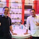 Bambang Soesatyo bersama founder ESQ Leadership Center (ESQ LC), Ary Ginanjar Agustian