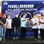 Melalui IMI Kalimantan Selatan Bamsoet Sumbang Korban Banjir